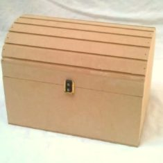 Cofre Bombé Caja Broche Souvenir Mdf  Fibrofacil 16x12x13