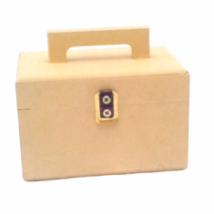 Cofre Caja Valija Souvenir Mdf  Fibrofacil 12x8x8