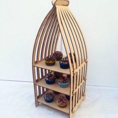 Jaula Porta Cupcakes