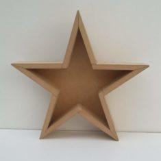 Estrella Decorativa con fondo
