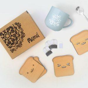 Bandejas y Cajas de Té - Café