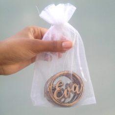 20 Souvenirs 6cm + Cartel 20cm